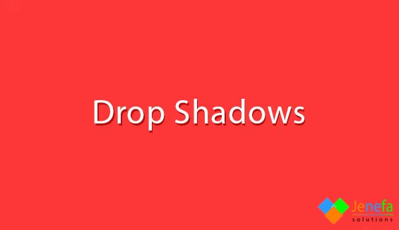 Add drop shadows